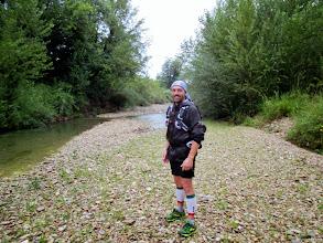 Photo: tratto lungo il Conca