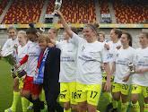 Chloe Van Mingeroet van de Gent Ladies mocht enkele fans speciaal voor haar verwelkomen