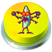 Zombie Banana Jelly Button