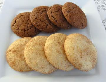 SnickerDoodle Cookies..Regular and Chocolate
