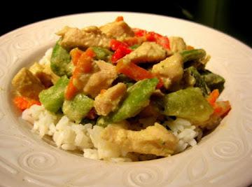 Thai Coconut Curry Chicken Recipe