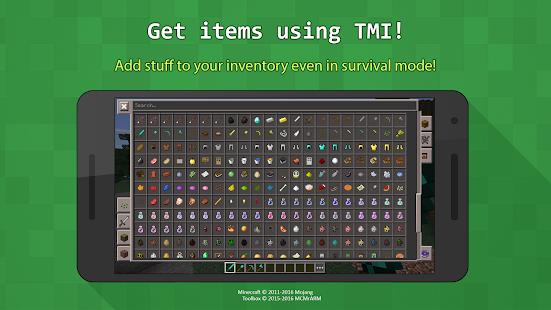 Toolbox for Minecraft: PE- screenshot thumbnail