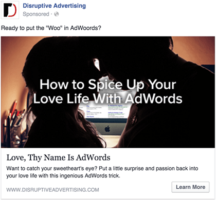 Link Ad Example