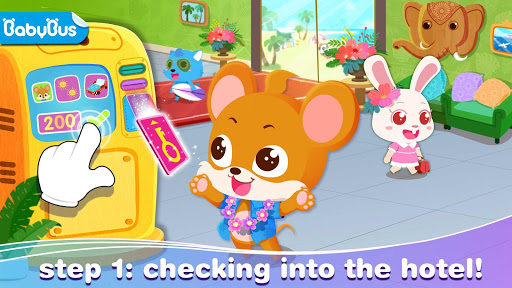 Baby Panda's Summer: Vacation apkdomains screenshots 1