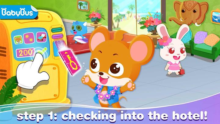 Baby Panda's Vacation Android App Screenshot