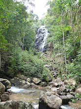 Photo: Ko Phangan motobiking around - Phaeng waterfall, pretty tall but not much water, maybe the best on island