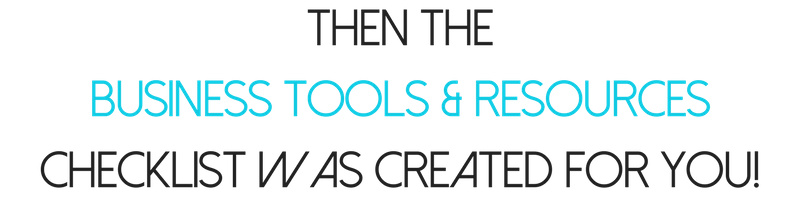 Business tools resources