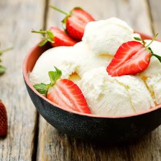 Low-Fat Vanilla Ice Cream.