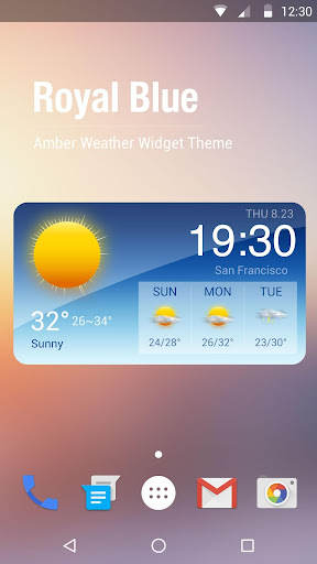 Blue Sky - Best Weather Widget