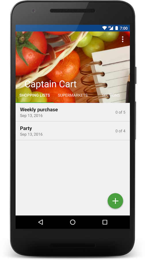 Captain Cart Shopping List Android Apps On Google Play