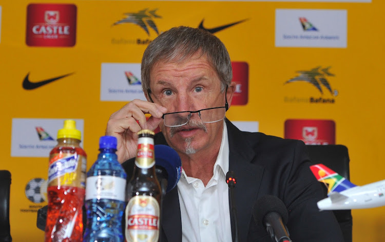 Bafana Bafana coach Stuart Baxter announces his squad to play Nigeria in the 2019 Africa Cup of Nations qualifier at FNB Stadium on November 17, 2018.
