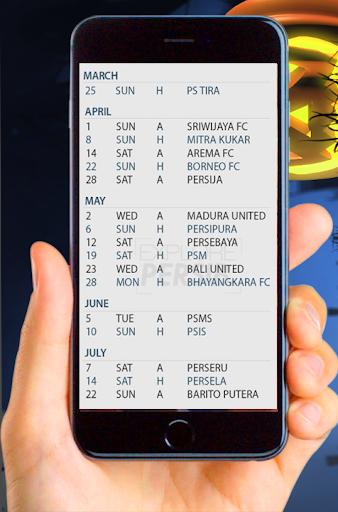 Jadwal Pertandingan Persib Liga 1 2018 1.0.0 screenshots 6