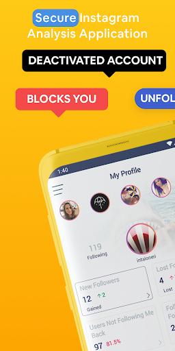 Followers & Likes Tracker for Instagram - Repost 2.9.1 Screenshots 1