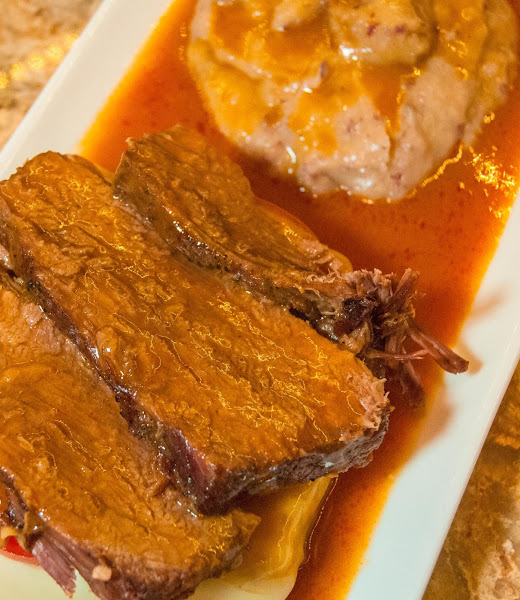 Hot Open Face Roast Beef Sandwiches With Taters Recipe