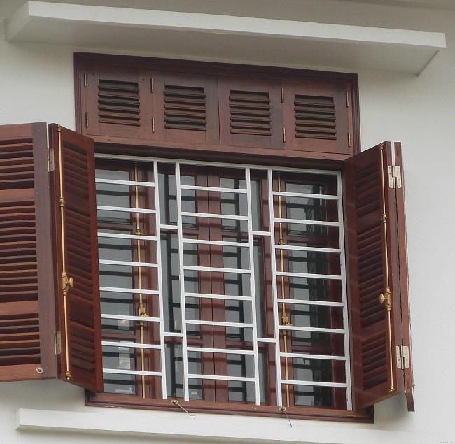 Mẫu song sắt cửa sổ