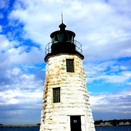 Newport Lighthouse by Martin Stepalavich - Buildings & Architecture Public & Historical ( phone,  )