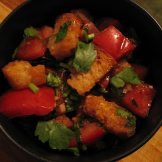 Crunchy Tomato & Parsley Salad