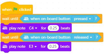 mBot: Ví dụ áp dụng cảm biến on-board