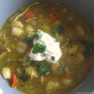 Green Chicken Chili Slow Cooker