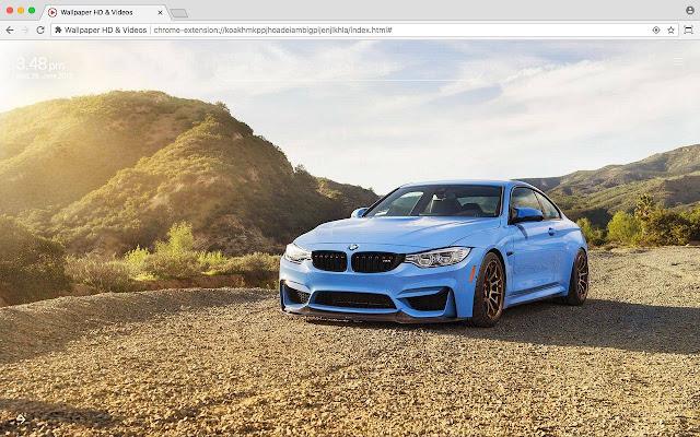 BMW Full HD Car Wallpaper New Tab Theme