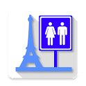 Toilets in Paris icon