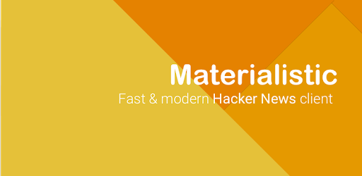 Materialistic - Hacker News - Apps on Google Play