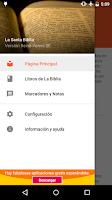Screenshot of La Biblia Reina Valera