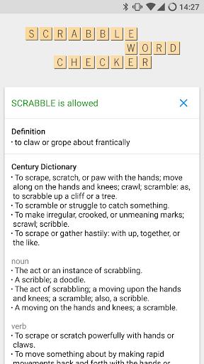 SCRABBLE Word Checker  screenshots 2