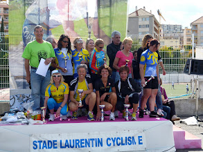 Photo: Podium féminin de la Laurentine 2013
