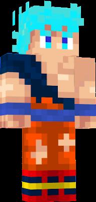 goku fase dios super sayayin azul errido