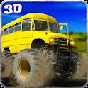 Big Bus Driver Hill Climb 3D icon