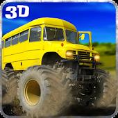 Big Bus Driver Hill Climb 3D