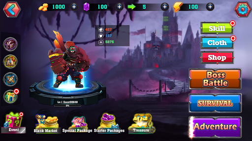 Hero Brave: Battle of Dragon apktram screenshots 3