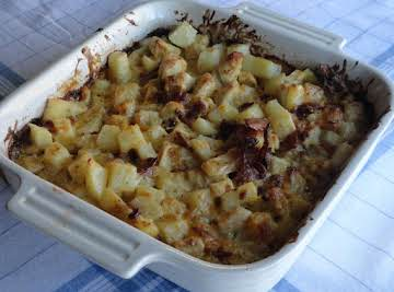 Ranch Chicken and Potatoes Casserole for 2