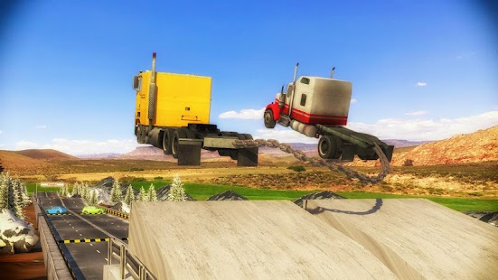 Download Chained Trucks against Ramp for PC