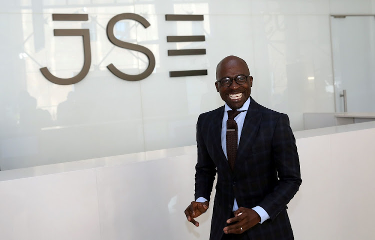 Ready to go: Finance Minister Malusi Gigaba at the Johannesburg Stock Exchange on Thursday. He  laid out a 14-point programme  to wrench the economy out of recession.   Picture: REUTERS