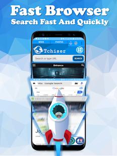 Tchiser Browser - Video Downloader & Status Saver