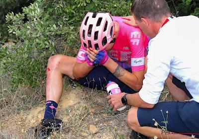 Tejay Van Garderen a chuté et a dû abandonner lors de la 7ème étape de la Vuelta