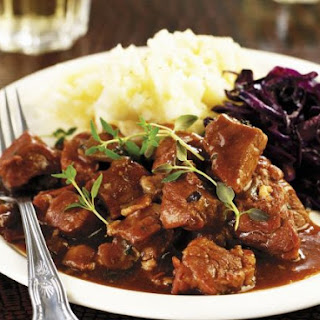 Game Meat Stew with Mash
