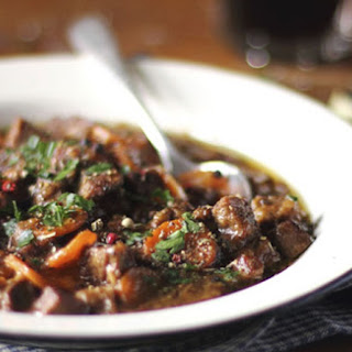 Warm up your St. Patrick's Day with this Irish Guinness stew.