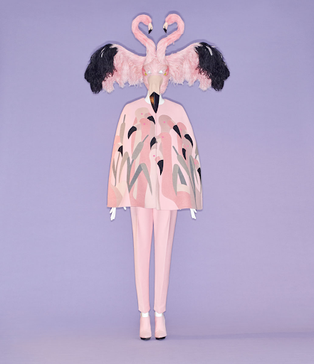 Camp: Notes on Fashion. Ensemble by Bertrand Guyon for House of Schiaparelli.  Fall/winter 2018-19 haute couture.