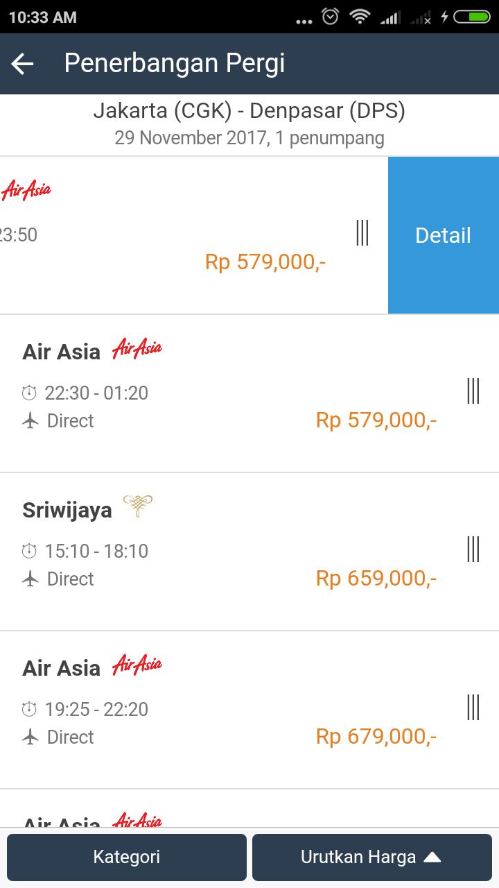 Скриншот Pesta Tiket Mobile