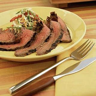 Flank Steak with Asian Slaw