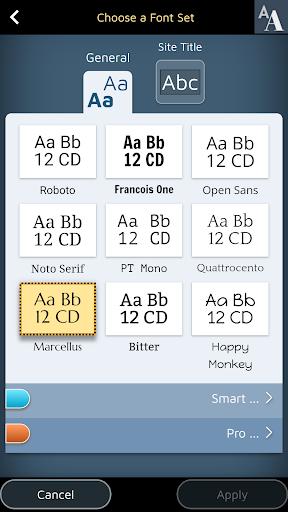 Website Builder for Android screenshot 7
