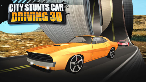 download city stunts car driving 3d for pc. Black Bedroom Furniture Sets. Home Design Ideas