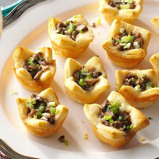 Parmesan Mushroom Tartlets.