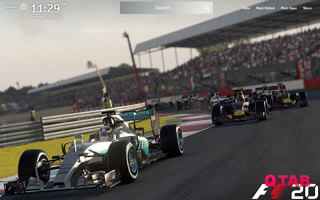 F1 2016 Wallpapers Theme F1 2016 Game New Tab