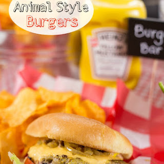 Classic Mustard Animal Style Burgers and BBQ Party Plan
