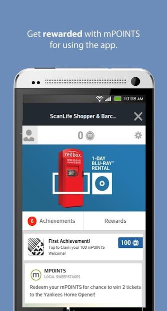 ScanLife Barcode & QR Reader screenshot 2