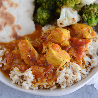 {Pressure Cooker or Stovetop} Coconut Chicken Curry